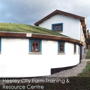 Heeley City Farm eco build