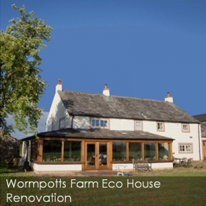 Wormpotts Farm eco house renovation