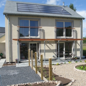 the first certified passivhaus in Cumbria