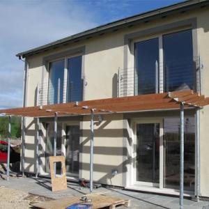 passive house build