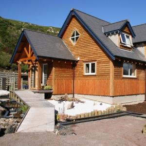 timber framed eco house