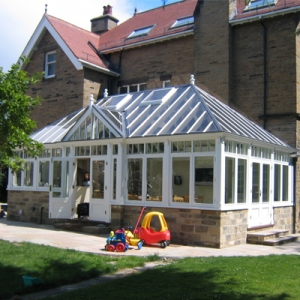 West Field House Conservatory Leeds Yorkshire