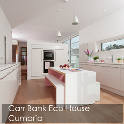 Carr Bank eco house in Cumbria