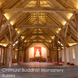 Chithurst Buddhirst Monastery Sussex