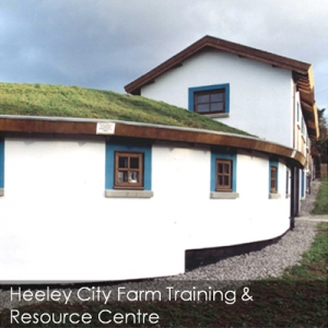Heeley City Farm eco build