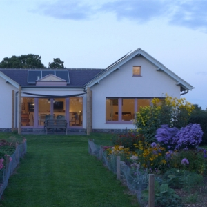 nearly zero carbon passive house