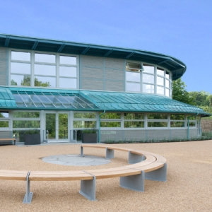 Eco learning centre exterior