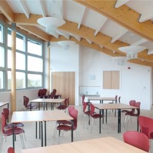 Eco building interior space