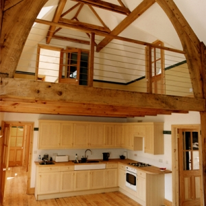 eco timber frame construction