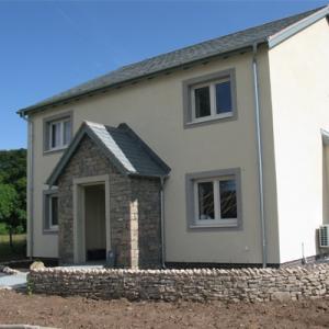 passive house building exterior