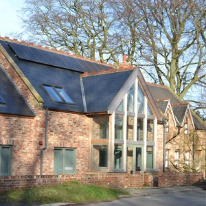 Kirkburn Chapel Eco House Driffield Yorkshire