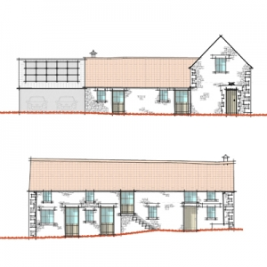 Snainton Passive House EnerPhit Barn Conversion Yorkshire