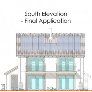 south elevation - final application