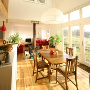 Wymondham Eco House in Leicestershire