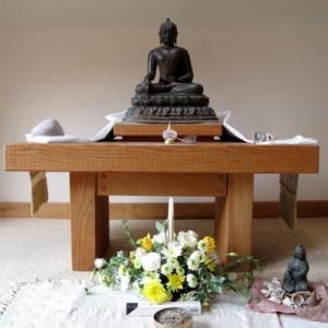 Chithurst Buddhist Monastery Abbots Kuti Shrine Sussex
