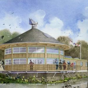 Gunners Park Passive House Education Centre Southend for Essex Wildlife Trust