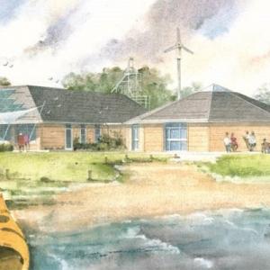 Lochore Meadows Country Park Passive House EnerPHit Eco Visitor Centre Retrofit in Scotland